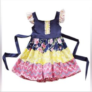 NWT- Boutique Ruffle Dress